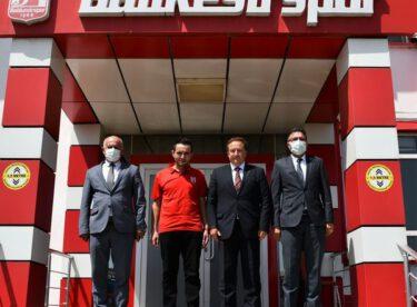 KARESİ BELEDİYESİNDEN BALKES'E ZİYARET