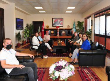 MÜSİAD'tan Rektör KUŞ'a ziyaret