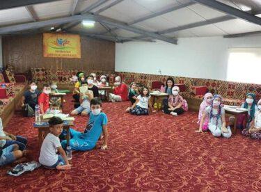 Dini İlimler Atölyesi kapsamında Kur'ân-ı Kerim eğitimi devam ediyor.
