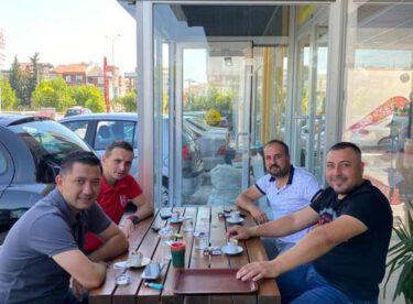 Başkanı Özgür Yılmaz'dan Şeremetli'ye ziyaret