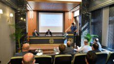 İl Spor Güvenlik Kurulu Vali Hasan Şıldak başkanlığında toplandı.
