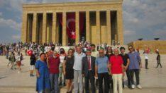 Ankara Balıkesirliler Derneği  anıtkabir'i ziyaret etti