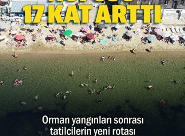 Tatilcilerin yeni rotası Balıkesir Marmara İlçesi  : Bölgenin nüfusu 17 kat arttı