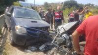 Erdek'te Trafik Kazası 5 Yaralı
