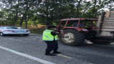 traktör denetimlerinde (1.010) araç kontrol edildi