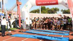 İsmail Akçay adına 13. sü düzenlenen Yol Koşusu Atatürk Stadı'nda gerçekleştirildi.