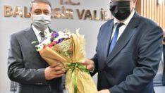 Ahilik Haftası dolayısıyla vali Şıldak'a ziyaret