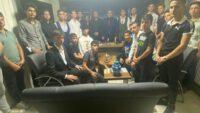 Balıkesir Ülkü Ocakları Başkanı Kazım Çalışkan Orta Öğrenimli gençlerle istişari toplan düzenledi