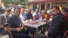 MHP HAVRAN MAHALLE ZİYARETLERİNİ SÜRDÜRÜYOR