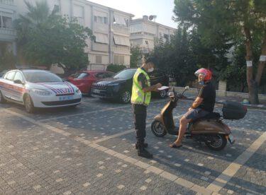Motosiklet ve Traktör denetimleri sonucunda (1.117) araç kontrol edildi.