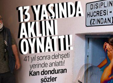 12 Eylül'de işkence gördüğü cezaevinde dehşeti anlattı: 13 yaşındaki bir kız çocuğunu getirip en adi işkenceleri yaptılar