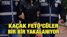 FETÖ/PDY Silahlı Terör Örgütü mensubu 3 kaçak yakalandı