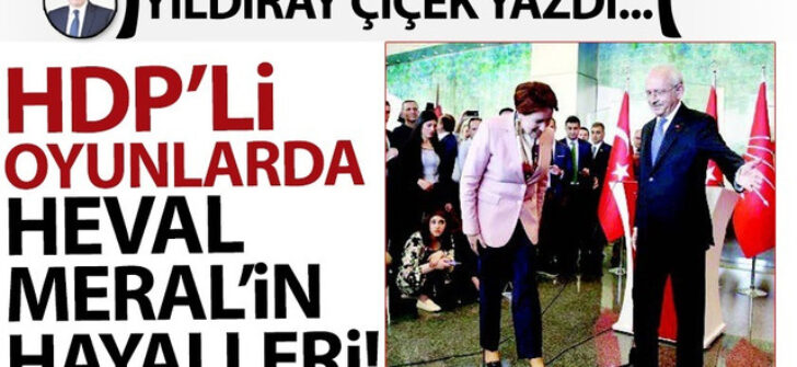 HDP'li oyunlarda Heval Meral'in hayalleri!