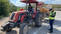 Traktör denetimleri sonucunda (898) araç kontrol edildi