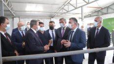 ValiHasan Şıldak, Kepsut Damızlık Koç Üretim Merkezini ziyaret etti.
