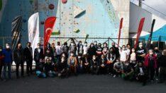 Tırmanış Yarışmaları yoğun katılımla gerçekleştirildi.