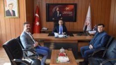 MHP İl Başkanı Ekrem Gökay Yüksel ziyaretlerini sürdürüyor