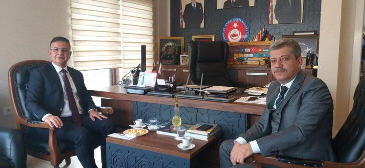 Türkav genel başkanını ziyaret etti