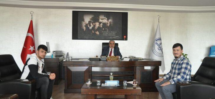 """KUR'AN-I KERİM'İ GÜZEL OKUMA YARIŞMASI"" BİRİNCİSİ"