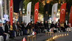 Balıkesir'de, Çınar altında Şiir Akşamları
