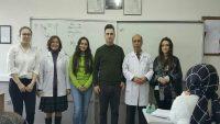 Burhaniye'de liseli öğretmenler ders anlattı
