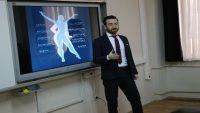 Burhaniye'de okullarda obezite eğitimi