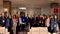 Avrupa'dan gelen öğrenciler Başkan Avcı'yı ziyaret etti