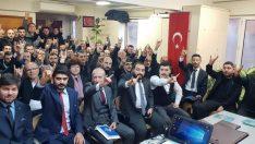 MHP'DE SEÇİM ÇALIŞMALARI DOLU DİZGİN