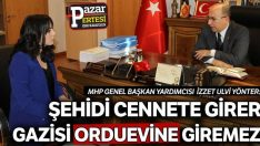 ŞEHİDİ CENNETE GİRER..