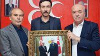 MHP ve AK Parti Teşkilatlarına ziyaret