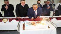 Başkan Uysal, doğum gününü Yargıtay Başkanı Cirit ile kutladı