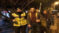 Balıkesir'de yolcu ve sürücülere sıcak çorba ikramı