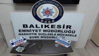 Balıkesir polisi uyuşturucu tacirlerine göz açtırmıyor