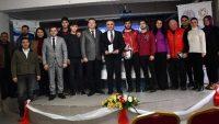 Efsane Atlet İsmail Akçay öğrencilerle buluştu Giriş:04 Ocak 2019 16:19
