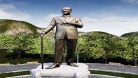 Çamlık'taki Atatürk Anıtı yenileniyor