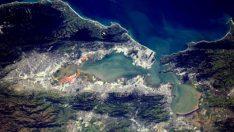 Uluslararası Uzay İstasyonu'nun çektiği fotoğraf