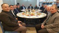 Vali Yazıcı, Esnaf odalarının başkanları ile buluştu