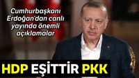 Erdoğan: Teröristler Afrin'den Akdeniz'e inecekti