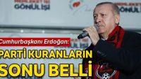 Erdoğan'dan Kılıçdaroğlu'na: Ne hâllere düştün dürüst ol dürüst!