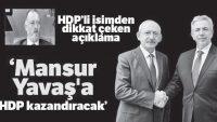 HDP destekli CHP figüranları!