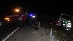 Yolcu otobüsü ile kamyon çarpıştı: 2 ölü, 7 yaralı
