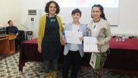 Tübitak Proje Yarışması için Bursa'ya gitti