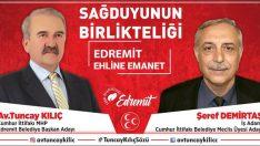 """ŞEREF DEMİRTAŞ:""""EDREMİT ŞAHA KALKACAKTIR"""""""