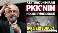 CHP,PKK'NIN HÜCRE EVİNE DÖNDÜ