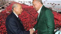 Erdoğan ve Bahçeli'den İzmir'de önemli açıklamalar