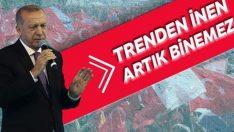 Erdoğan: Trenden inen artık binemez