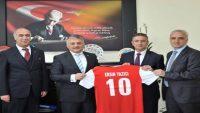 Vali Yazıcı, Balıkesir Üniversitesini ziyaret etti