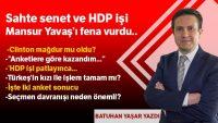 Sahte senet ve HDP işi Mansur Yavaş'ı fena vurdu.
