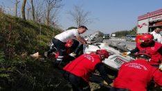 Balıkesir-İzmir yolunda kaza: 1 ölü, 3 yaralı