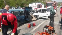 Balıkesir'de kaza: 1 ölü, 6 yaralı